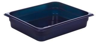 Гастроемкость из полипропилена без крышки GN 1/2 325х265x65 мм синяя [422107417]