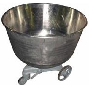 Дежа 140 литров для ТММ-140 ЧЕРН. (окрас белый), углеродистая
