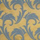Скатерть 145х145 см «Мати» голубая с золотом [06С26-КВ 1625/040403+310503]
